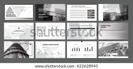 presentation templates use presentation flyer leaflet stock vector, Presentation templates
