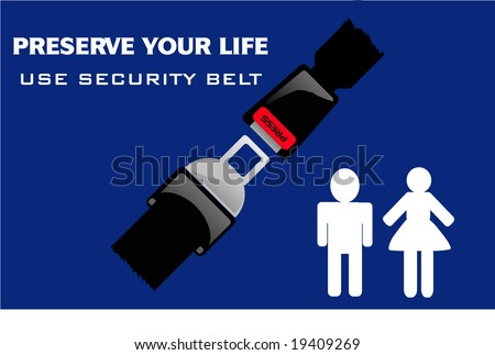 preserve your life - stock vector