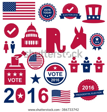 Presidential Election design elements