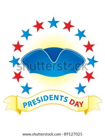 Presidents Day (Washington) - stock vector