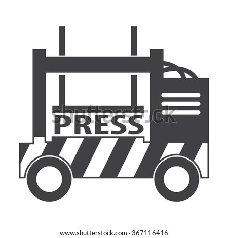 Press icon. Press icon vector. Press icon simple. Press icon app. Press icon web. Press icon logo. Press icon sign. Press icon ui. Press icon flat. Press icon eps. Press icon art. Press icon draw.  - stock vector