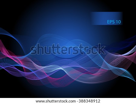Print Blue abstract vector  background  for  design .