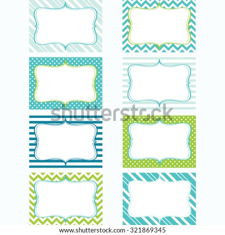 printable labels settags photo frame gift tags card making invitation