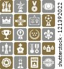 Prizes & Awards icons - stock vector