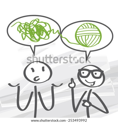 problem solving is a mental process in psychology - stock vector