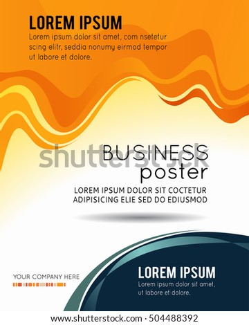 professional business design layout template corporate stock vector, Presentation Abstract Template, Presentation templates