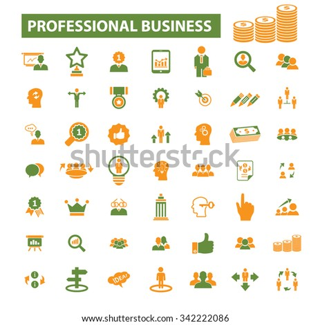 professional business, money, strategy, organization, company, marketing, market  icons, signs vector concept set for infographics, mobile, website, application  - stock vector