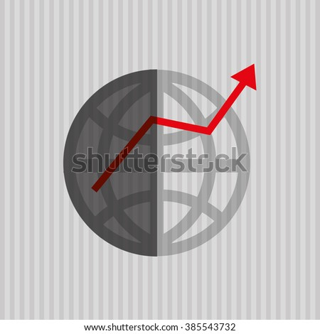 Profit and money design  - stock vector