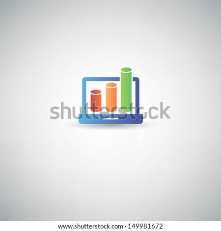 Profit symbol,vector - stock vector