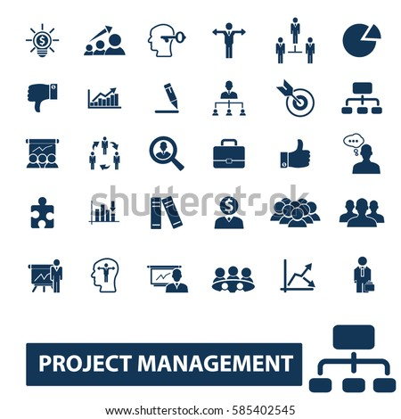 Project icon vector