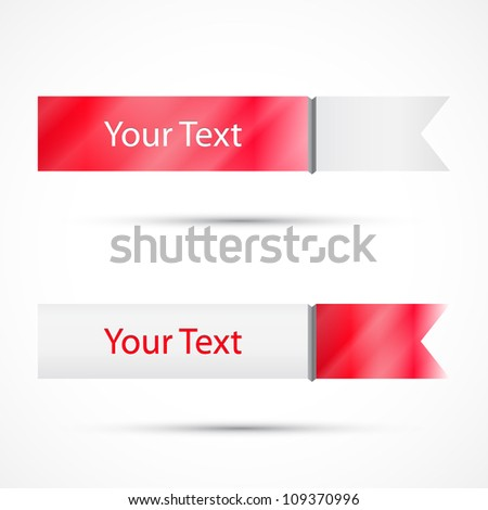 Promo tag - stock vector