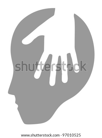 Psychology icon - stock vector