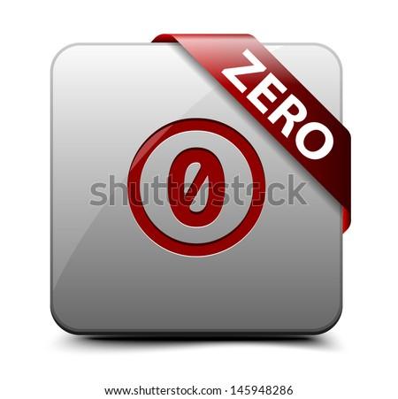 Public Domain button - stock vector