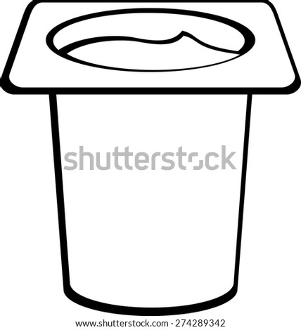 pudding in disposable cup