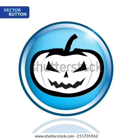 Pumpkin halloween vector illustration