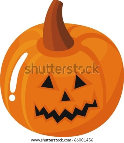 Pumpkin Holiday Halloween - stock vector