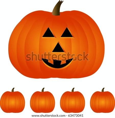 Pumpkin Time - stock vector