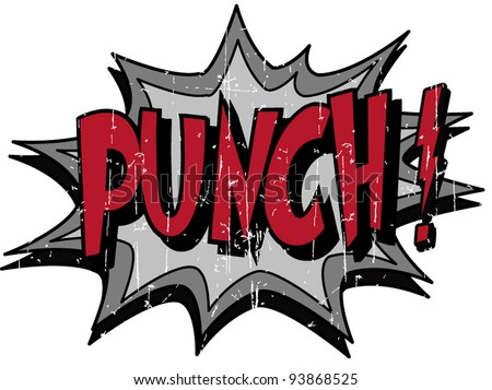 punch - stock vector