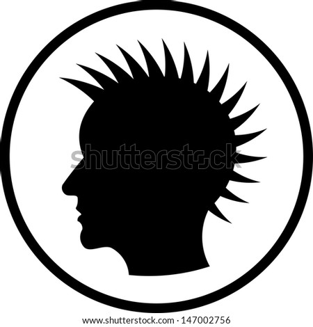 mohawk hair styles for mohawk hairstyle stock photos images amp pictures 1814