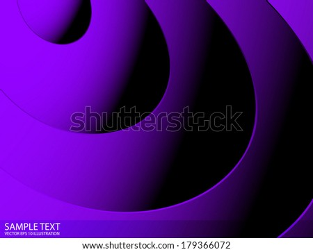Purple abstract lighted shades vector  template - Purple vector lines lighted background illustration