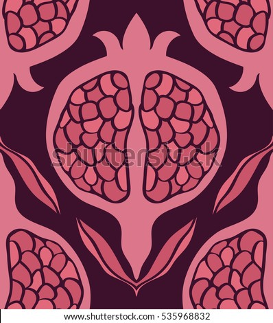 pink carpet tile pink floral pattern seamless vector ornament stock vector