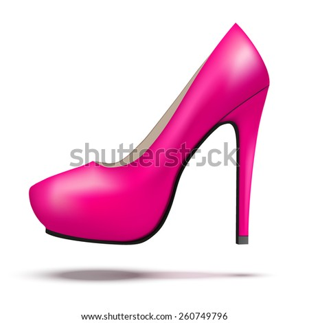 pink high heels stock images royalty free images. Black Bedroom Furniture Sets. Home Design Ideas