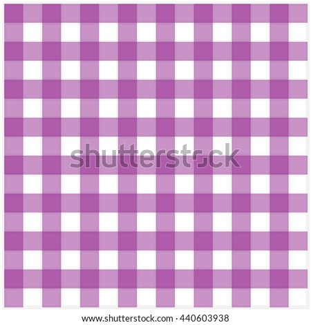 Purple Classic Checkered Tablecloth Texture Vector