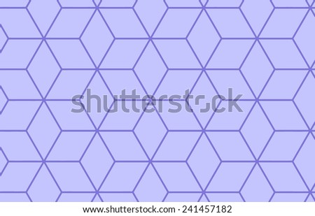 purple cubes vector geometric pattern - stock vector