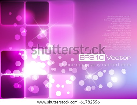 Purple elegant background - vector illustration - stock vector