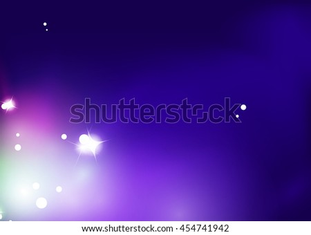Purple shiny abstract background. Blurred light vector template. Magic layout - stock vector