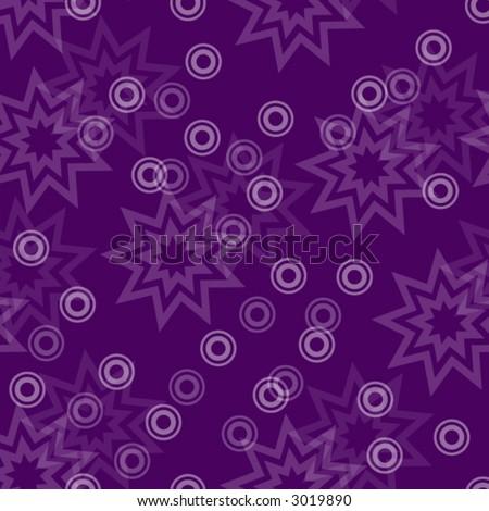 Purple Star Circle Wallpaper