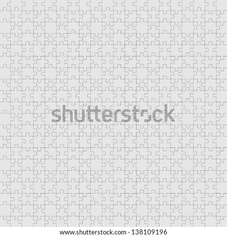 Puzzle - Background, Vector Illustration, Graphic Design Editable For Your Design - stock vector