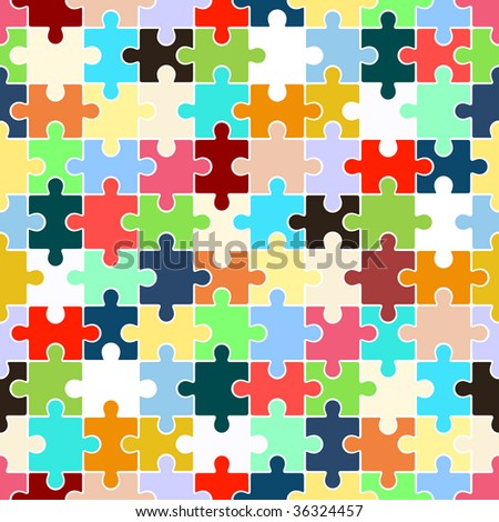 Puzzle (seamless texture)