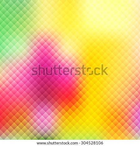 Python styled background on a yellow and green colors. Fully editable vector illustration. Perfect for backdrops and wallpapers and flayers. - stock vector