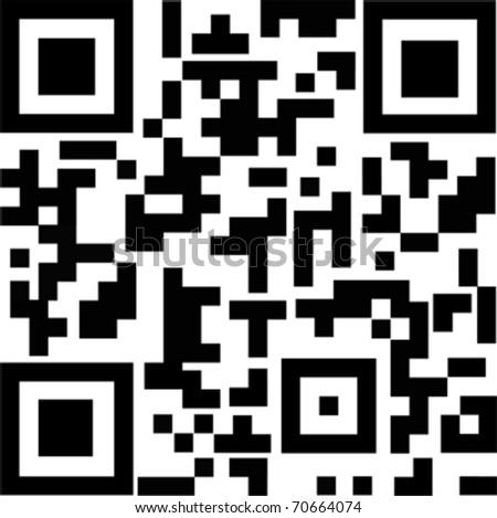 QR Code - stock vector