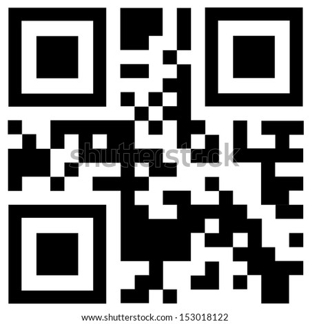 "Qr code says ""BONUS"" - stock vector"
