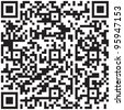 qr code vector pattern. Product barcode 2d square label - stock photo