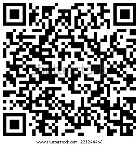 "QR code with text ""Wish You a Merry Christmas and Happy New Year!"""