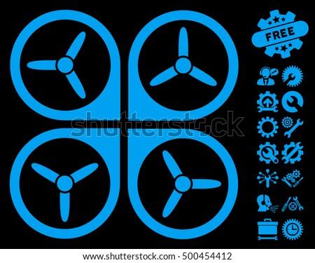 Quadrotor Clip Art