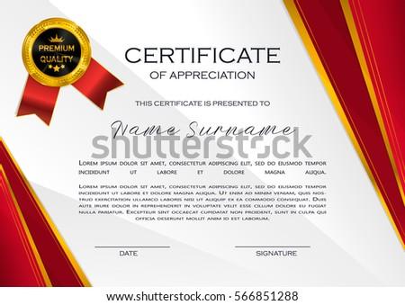 modern certificate of appreciation design