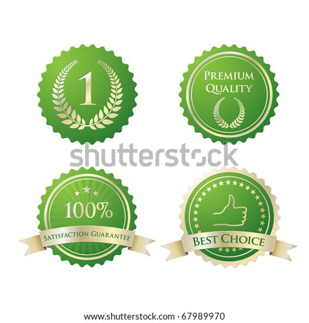 Quality Seal - stock vector
