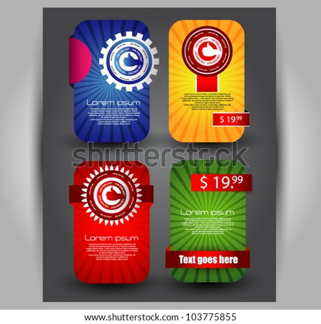 quality web banners  vector