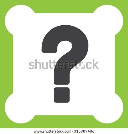 question mark vector icon