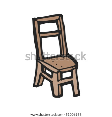 quirky drawing of a chair