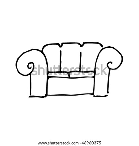 Comfy Chair Drawing Decorating A