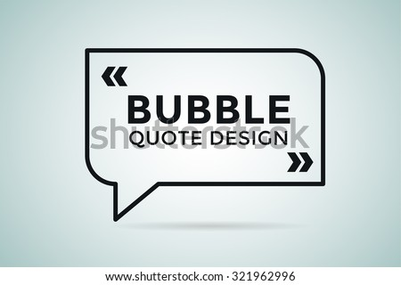 Quote blank template. Quote bubble. Empty template. Quote design, quoting box, text sign reference, paper information template. Quote form. Bubble template vector set. White quote blank icon isolated - stock vector