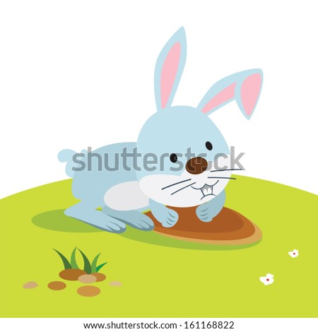 Hero card - rabbit hole app