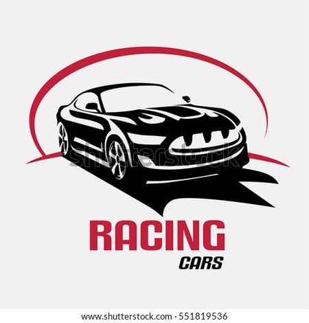 Sport Car Logo Emblem Badge Icon Stock Vector Shutterstock