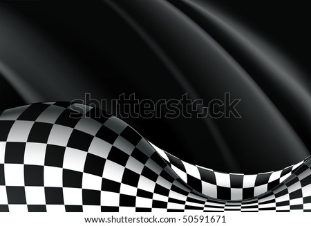 Racing Background, vector - stock vector