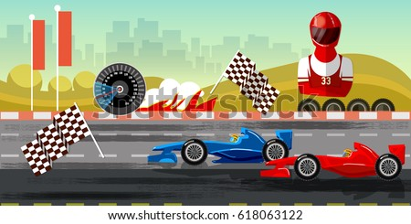 Race Circuit Stock Images Royalty Free Images Vectors